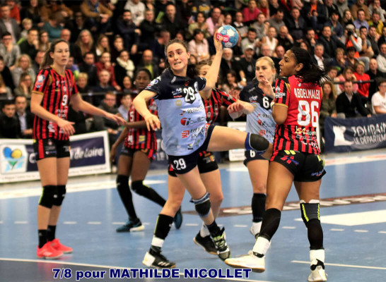 MATHILDE NICOLLET vs NICE 10012020